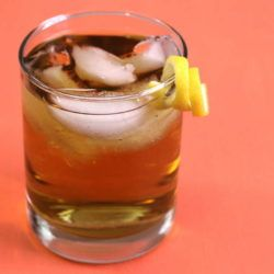 The Rusty Nail cocktail is an old classic that dates back to the 1930s. It blends smoky scotch with sweet Drambuie for a flavor that's surprisingly sweet and easygoing.