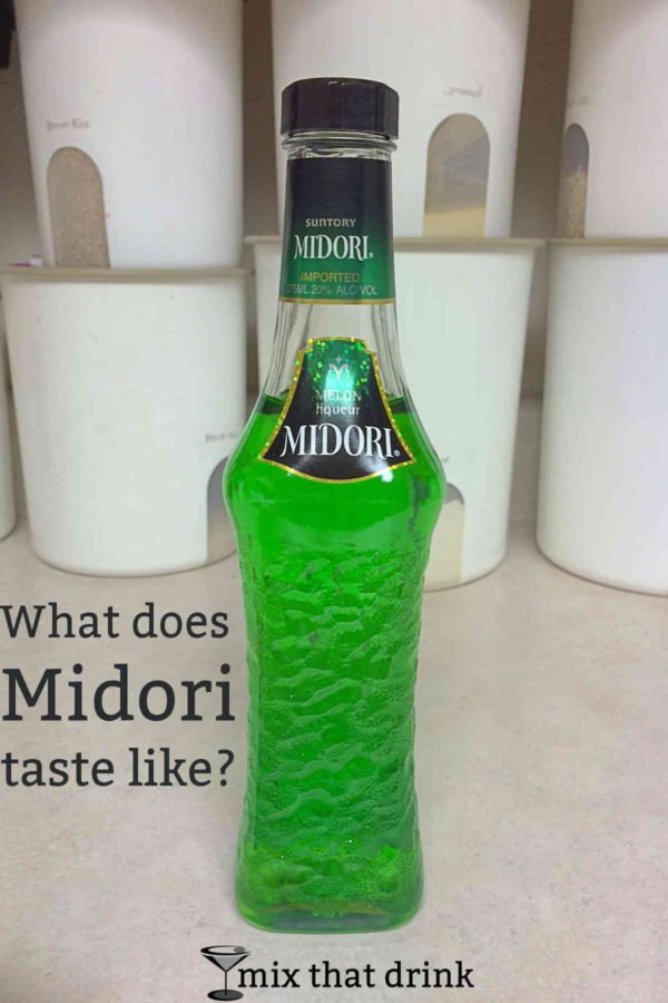 What does Midori taste like? A detailed description along with cocktail suggestions.