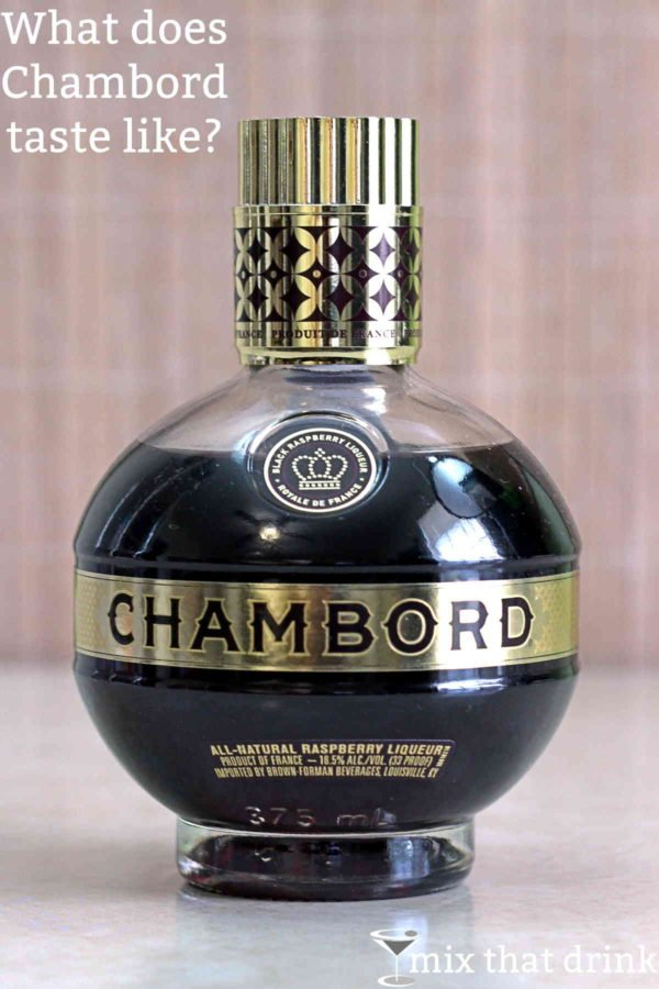 Ever wondered what does Chambord taste like? My detailed tasting notes on Chambord, a French cognac-based sweet black raspberry liqueur. This is one of my favorite spirits, and it's popular worldwide because it's so delicious.