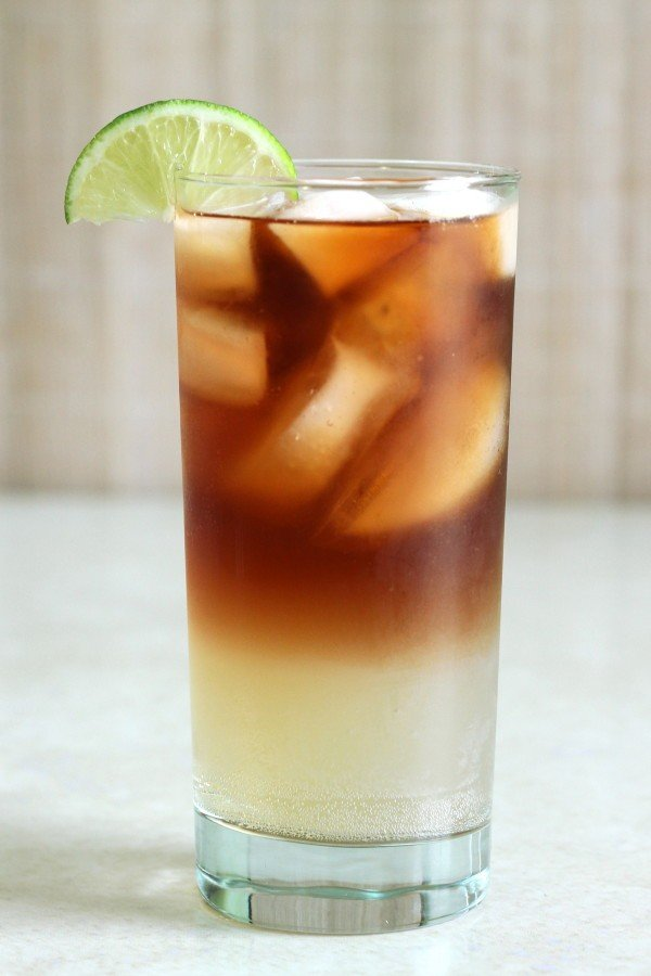 Dark 'n' Stormy cocktail recipe with Gosling's Black Seal Rum and...