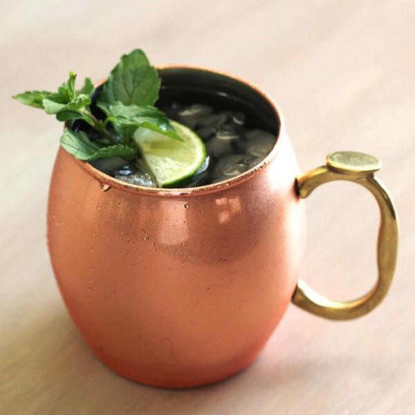 July Julep drink recipe with Jack Daniels Honey, lemon, ginger and mint.