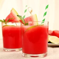 Fresh Watermelon 'Rita Drink Recipe