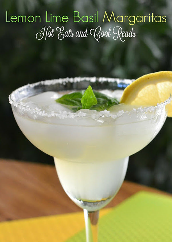 Lemon Lime Basil Margarita