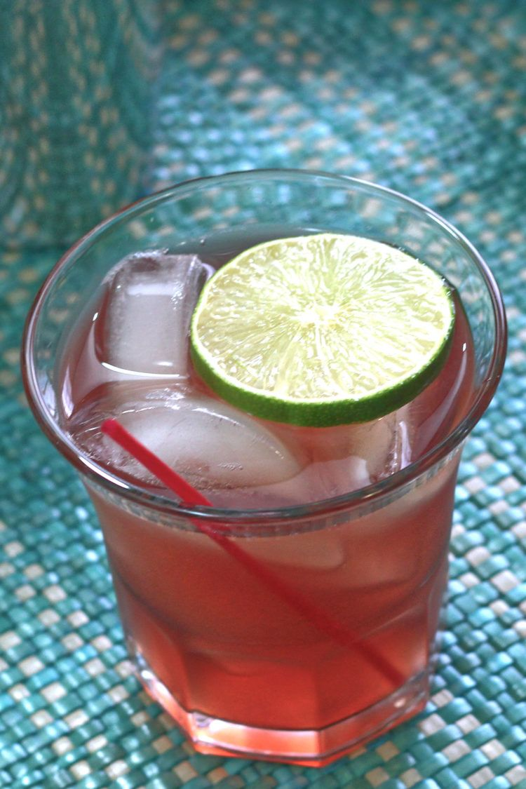The C&T Cocktail was suggested by one of our readers, Michael Julian, who created it with a friend. It's based on the Cranberry Gin, but to that delicious combination, it adds flavors of orange and lime.