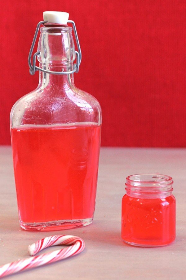 Candy Cane Vodka makes a wonderful homemade gift. It tastes like a light, clean mint, but with enough sweetness to keep it from being overpowering. And the translucent red color is just gorgeous.