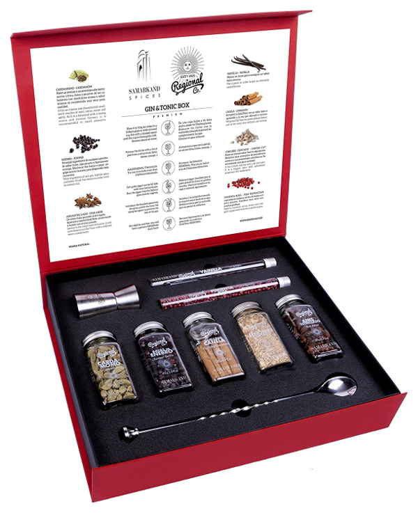 Gin & Tonic Flavoring Kit