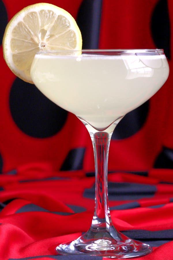 Vesper Cocktail for Valentine's Day
