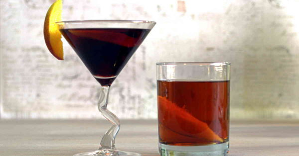 """The """"Nasty Woman"""" and """"Bad Hombre"""" cocktails were inspired by memorable phrases from the 2016 presidential debates. They're delicious, with fruit, spice and mocha notes, unlike the irritating election season from which they came."""