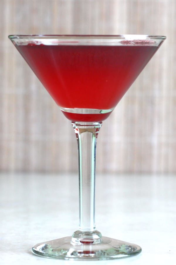 Crimson Cocktail for New Years