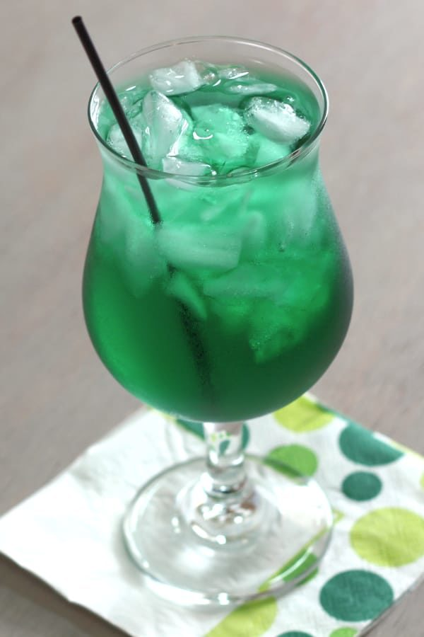 Misty Mint New Years cocktail