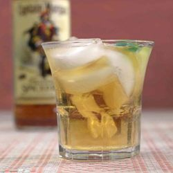 Captain & Ginger Cocktail Recipe, featuring Captain Morgan