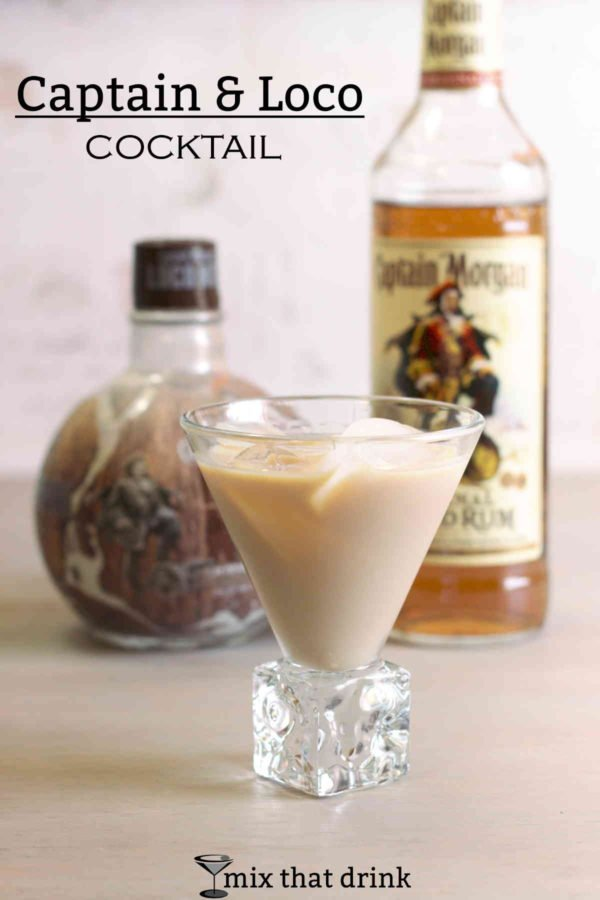 The Captain & Loco cocktail recipe is a delicious coconut flavored rum drink with hints of spice. It features Captain Morgan LocoNut with the Captain's Spiced Rum, and the combination is amazing. Great for parties!