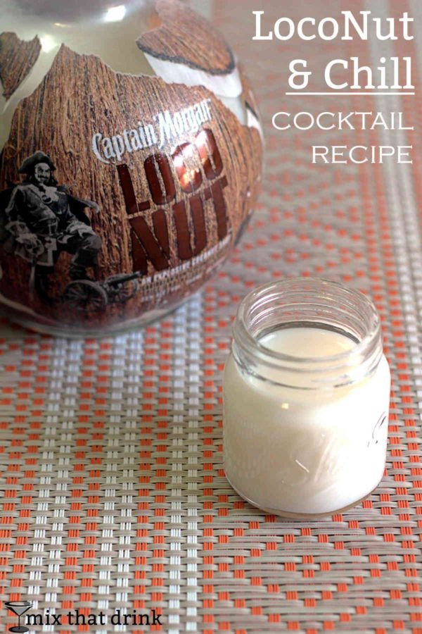 The LocoNut & Chill is all about the coconut flavor. Captain Morgan's LocoNut has a wonderful coconut flavor with hints of spice. The spice is what takes it to a whole other level from your standard coconut rum.
