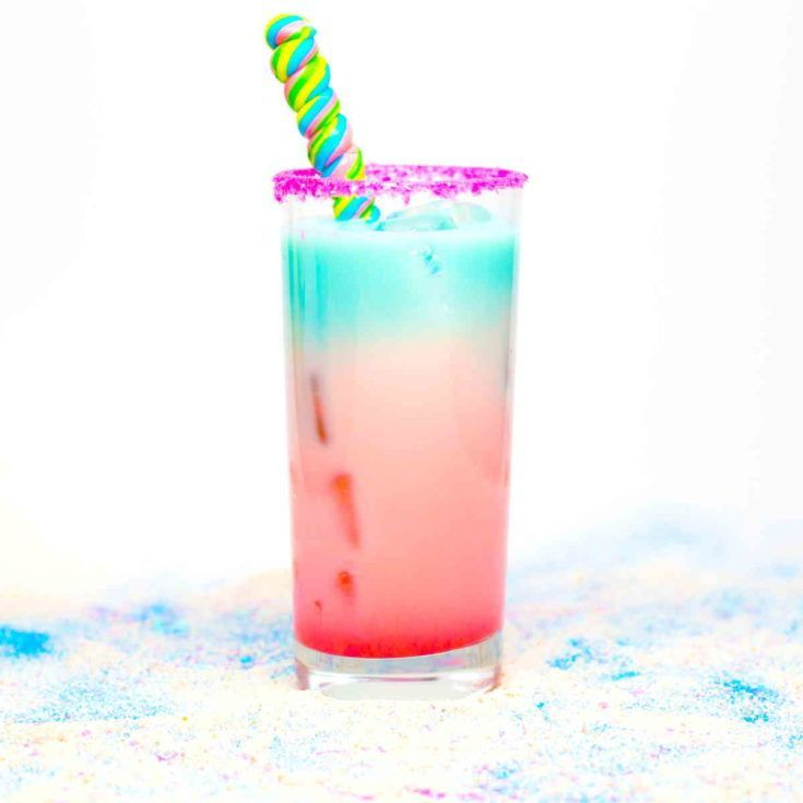 Loco Unicorn, Rainbow Colored LocoNut Cocktail