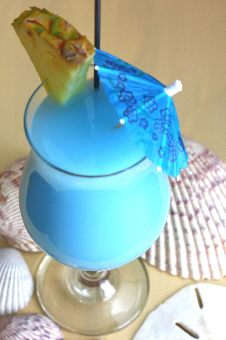 Blue Hawaiian Classic Cocktail Recipe Mix That Drink