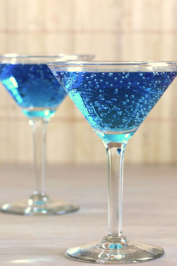 Blue Shoe Mocktail Recipe