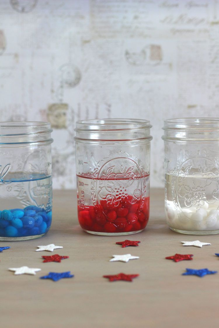 American Mix Skittles in vodka in a glass jar